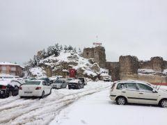 Isparta'daki 8 ilçede eğitime kar engeli