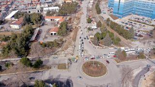 Isparta Karayolları Kavşağı'na belediye neşteri