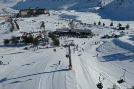 Yarıyıl tatilinin vazgeçilmezi 'Isparta Davraz Kayak Merkezi'