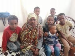 Somali'de eşi vefat edince ortada kalan 3 çocuğunun Türkiye'ye getirilmesini istiyor
