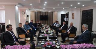 Balıkesir Büyükşehir Belediye Başkanı Yılmaz'dan, Isparta Belediye Başkanı Başdeğirmen'e ziyaret