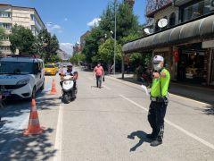 Isparta'da motosiklet denetimleri arttırıldı