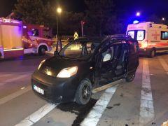 Isparta'da trafik kazası: 7 yaralı