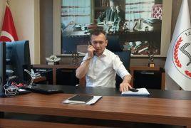Isparta İl Milli Eğitim Müdürü Yılmaz, LGS'ye girecek öğrencileri telefonla aradı