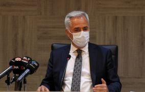 """Isparta Valisi Seymenoğlu: """"430 vakadan 413'ü iyileşti, 8 kişi hayatını kaybetti"""""""