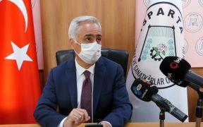 """Isparta Valisi Seymenoğlu: """"Son 2 günde vak'a sayımız arttı, toplam 14 pozitif vak'amız var"""""""