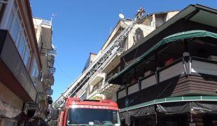 Kafeler Caddesinde Yangın