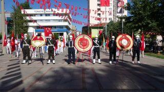 Isparta'da 30 Ağustos Zafer Bayramı törenle kutlandı