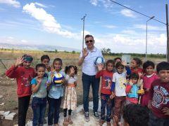 Isparta Valisi Seymenoğlu'ndan Milli Eğitim Müdürü Yılmaz'a maske ve sosyal mesafe uyarısı