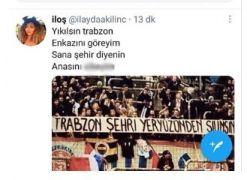 CHP Isparta İl Gençlik Kolları Başkan Yardımcısı Kılınç'tan Trabzon için skandal paylaşım