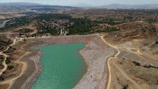Isparta'da Bağkonak Göleti ile 5 bin 890 dekar zirai arazinin sulanması hedefleniyor