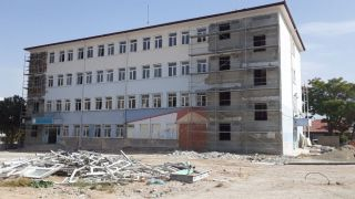 Isparta'da depreme dayanıksız okullarda güçlendirme çalışması yapılıyor