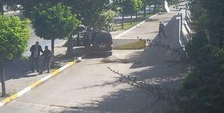 Isparta'da otomobil hırsızı sıcak takibin ardından kaza yapınca yakalandı