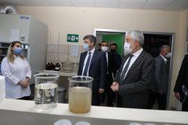 Isparta Belediye Başkanı Başdeğirmen, Afyon'daki ileri biyolojik arıtma tesisini inceledi