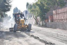 Isparta Belediyesi'nden 20 bin metrekarelik alanda asfalt çalışması