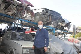 Otomotiv sektöründe yaşadığı yedek parça sorununa hurda araçları parçalayarak çözüm buldu