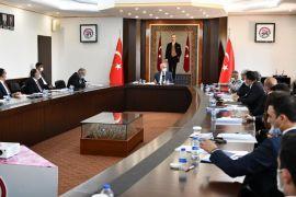 """Vali Seymenoğlu'ndan kaymakamlarla buluştu: """"Sizin iyi bir örnek olmanız lazım"""""""