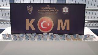 Isparta'daki sahte para operasyonunda 1 kişi tutuklandı