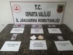 Isparta'da uyuşturucu operasyonlarında 1 şüpheli tutuklandı