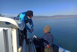 Eğirdir Gölü'nde kaçak avlanan 2 kişi yakalandı