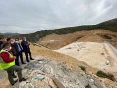Isparta'nın en büyük barajının 2022 yılında tamamlanması bekleniyor