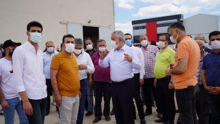Isparta'da AK Parti teşkilatları belediye yatırımlarını inceledi