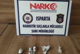 Isparta'da uyuşturucu operasyonlarında 38 şüpheli yakalandı