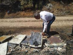 Çandır yangınında hayvan ve arı kovanları zarar gören 4 aileye 75 bin lira hibe desteği